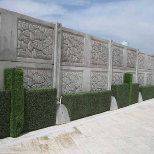 فروش دیوار پیش ساخته محوطه